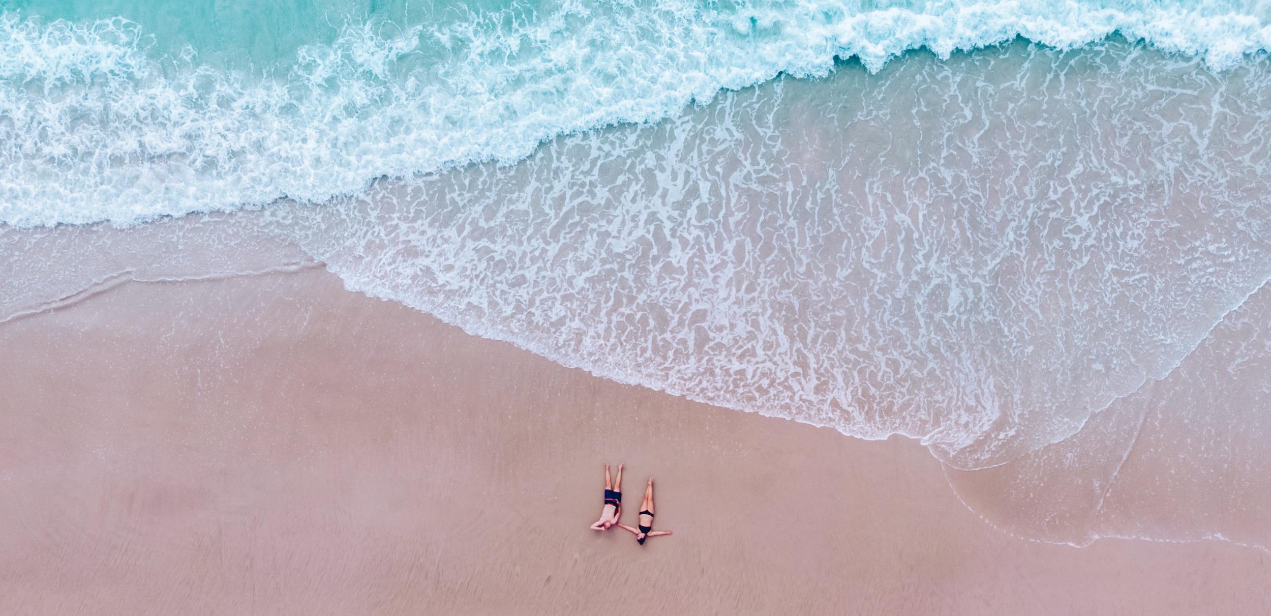 Craving Adventure - New Zealand - Travel - Adventure - Couple - Beach - Ocean - Drone - Blog