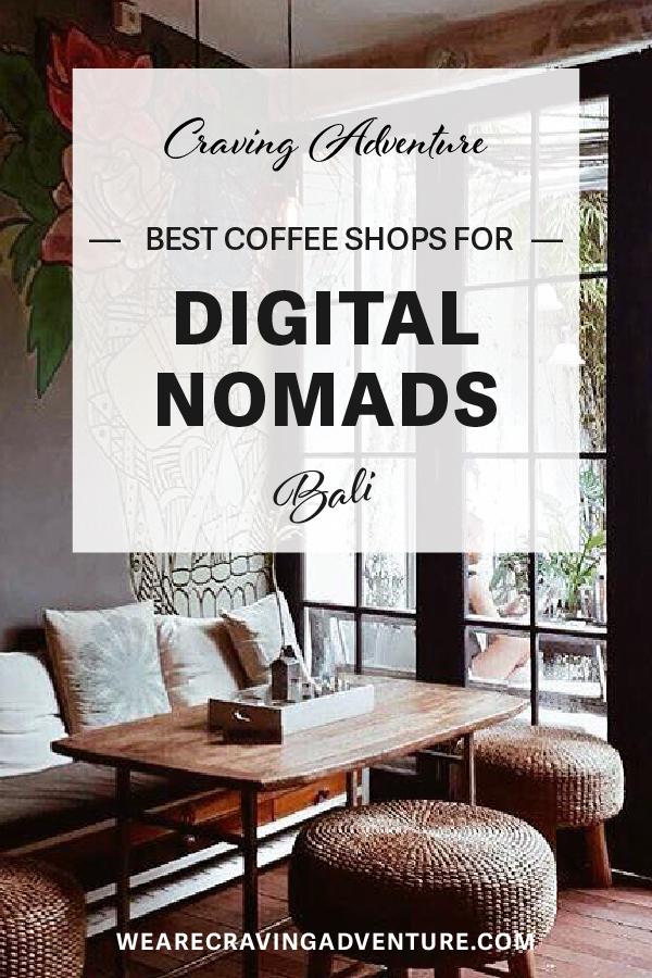 Best coffee shops for Digital Nomads in Bali