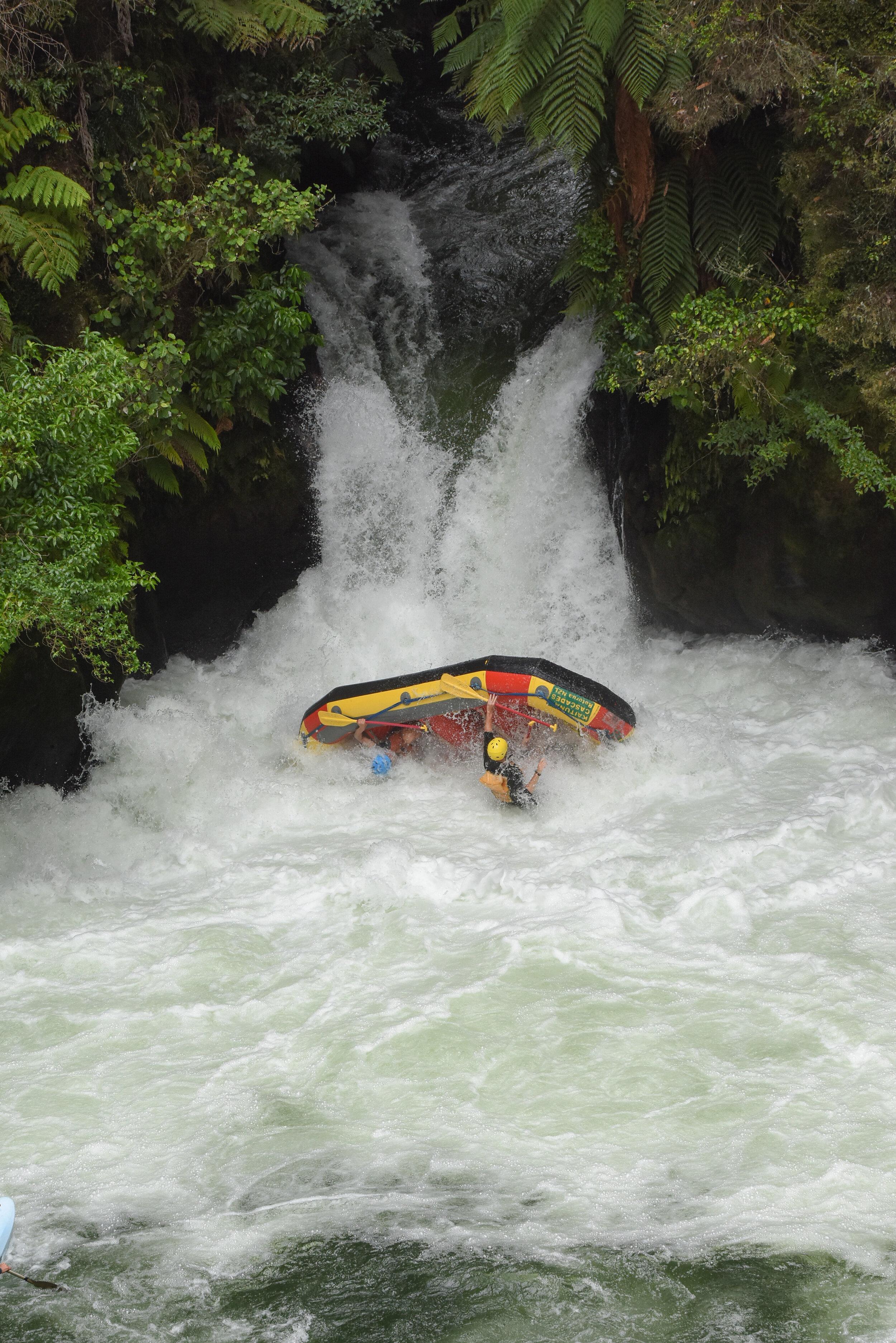 Kaituna river rafting what to do rotorua New Zealand