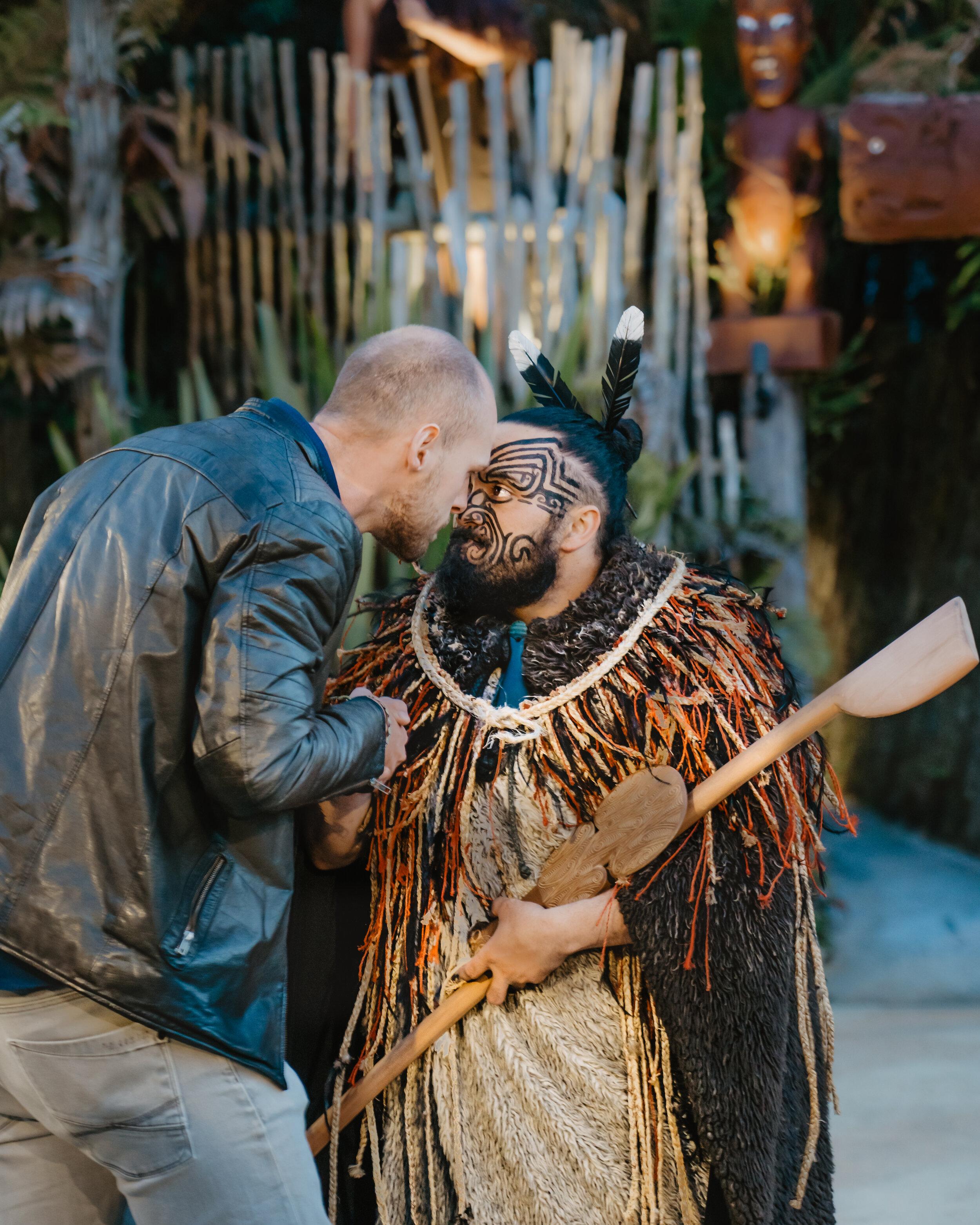 Tom and maori chief what to do rotorua New Zealand