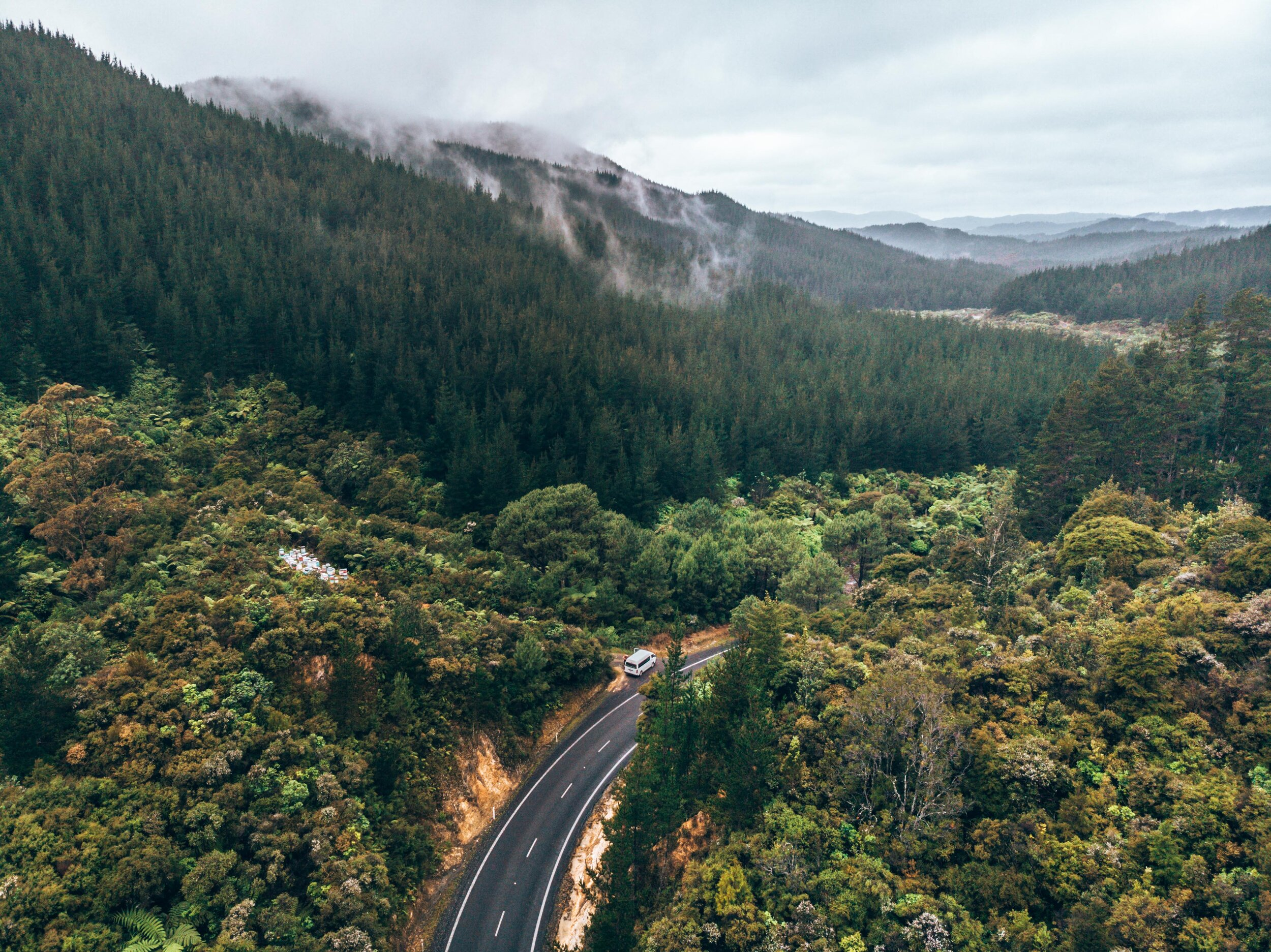 Moody Rainfall Shot Travel drone photography guide for beginners