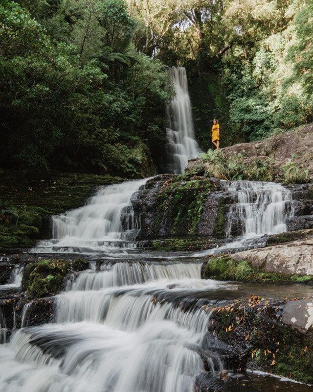 McLean Falls Bottom Best Waterfalls New Zealand
