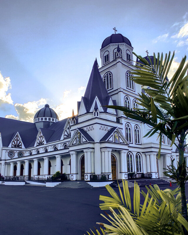 Immaculate Conception of Mary Cathedral Apia Upolu Travel Samoa