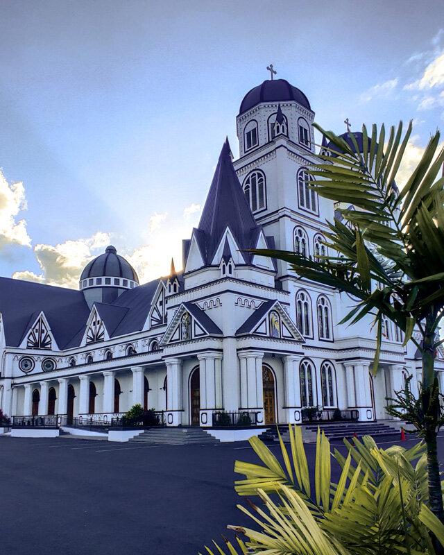 Cathedral Apia Travel Samoa