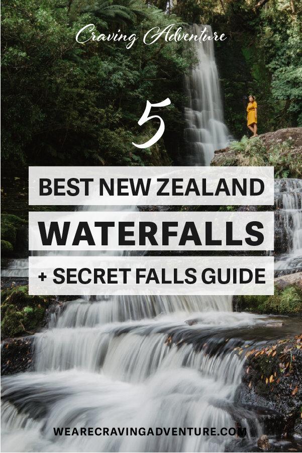 NZ best waterfalls - secret waterfall new zealand guide