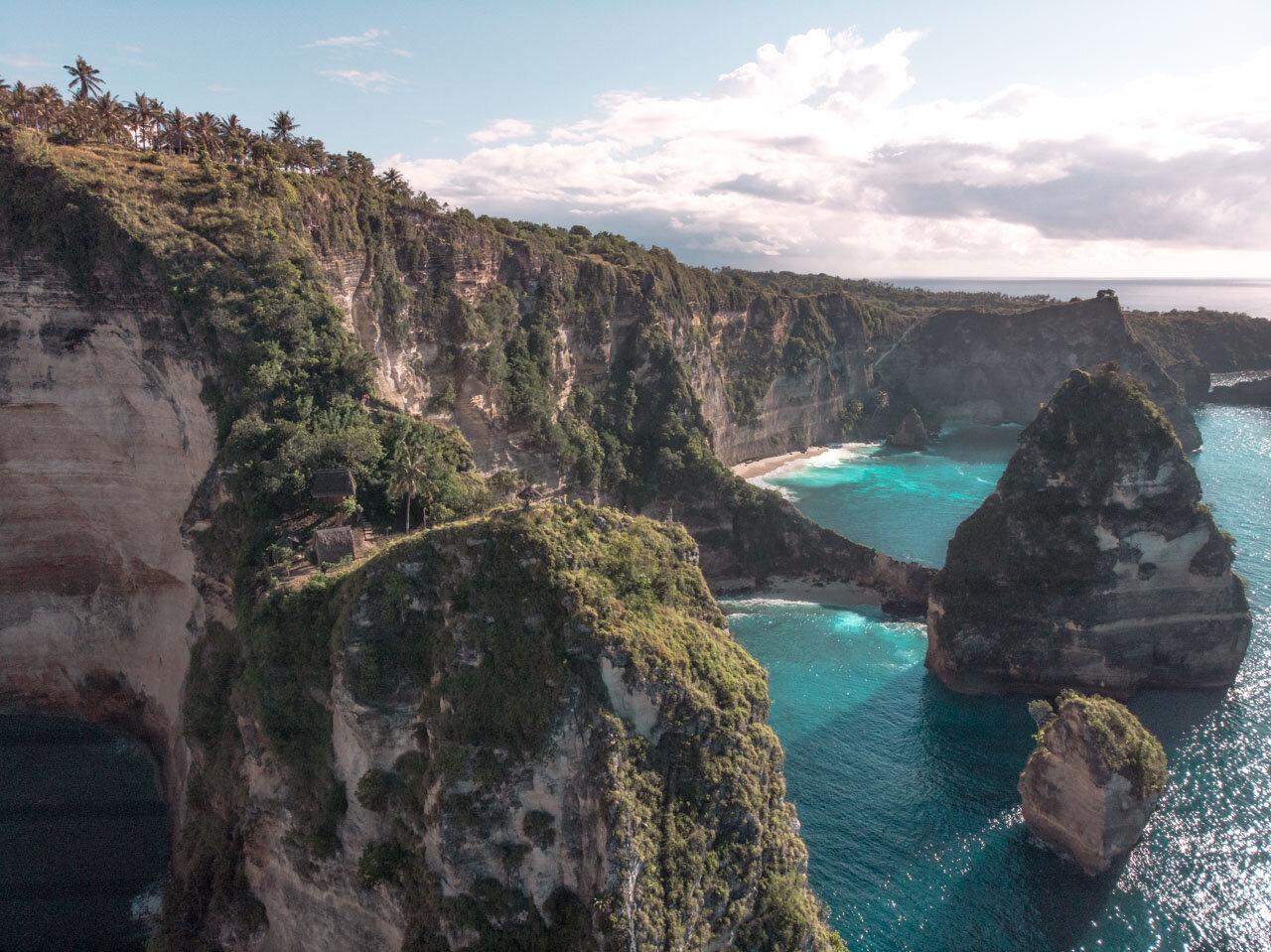 Thousand Islands Viewpoint Nusa Penida Best Instagram Spots Bali Travel