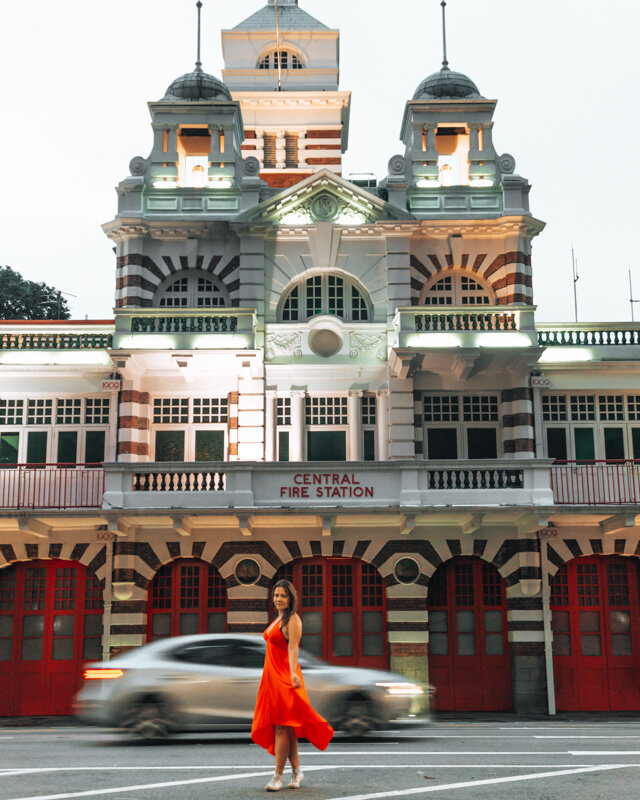 Fire Station Singapore 3 day itinerary travel guide