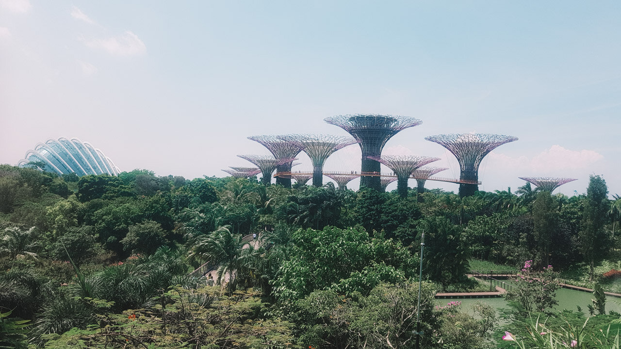 Gardens by the Bay Singapore 3 day itinerary travel guide