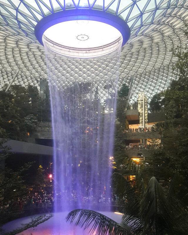 Jewel Changi Ariport Singapore 3 day itinerary travel