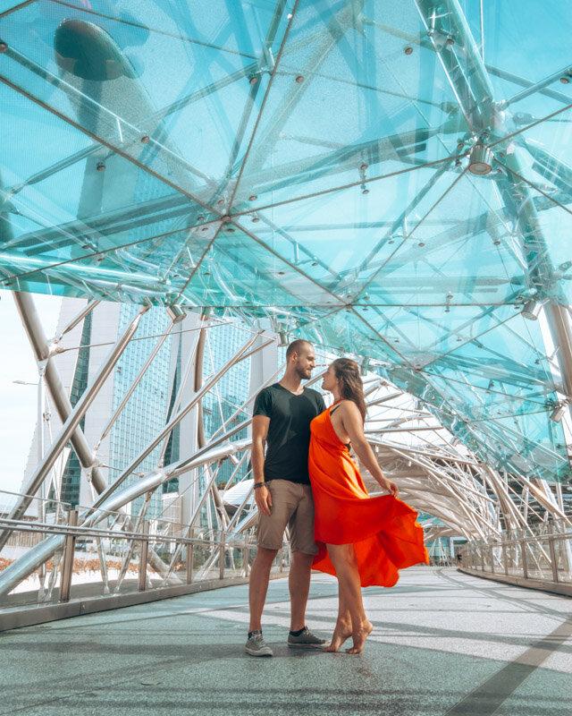 Helix Bridge Singapore 3 day itinerary travel guide