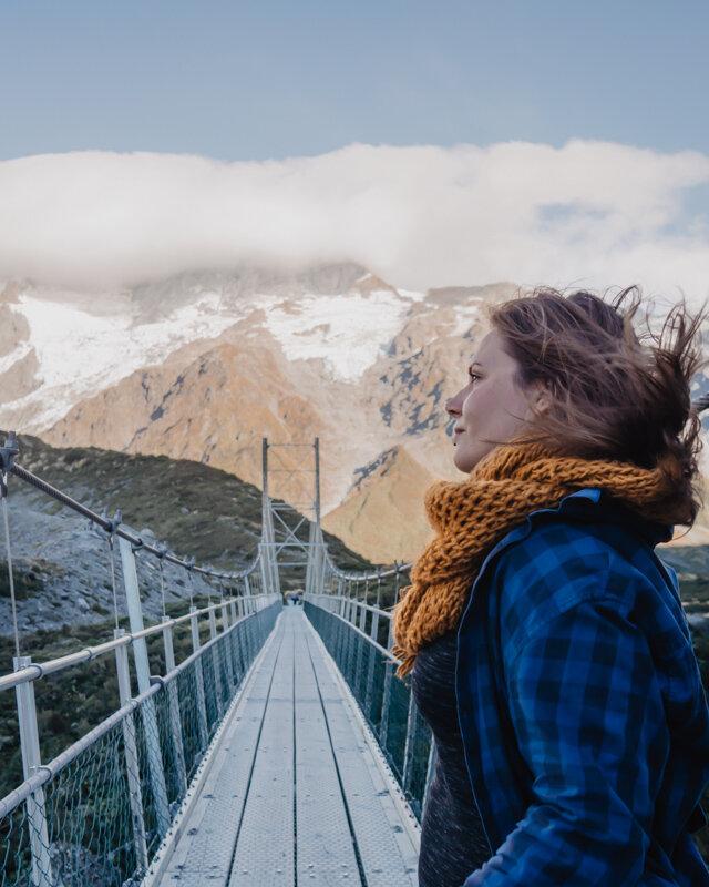 Best Mount Cook Hikes Hooker Valley Swing Bridge New Zealand