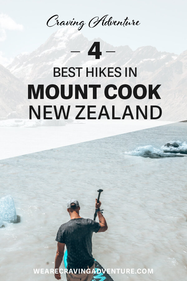 Best Mount Cook Hooker Lake Paddle Point New Zealand Travel