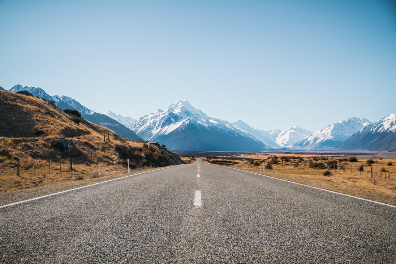 Mount Cook How to start a travel blog guide