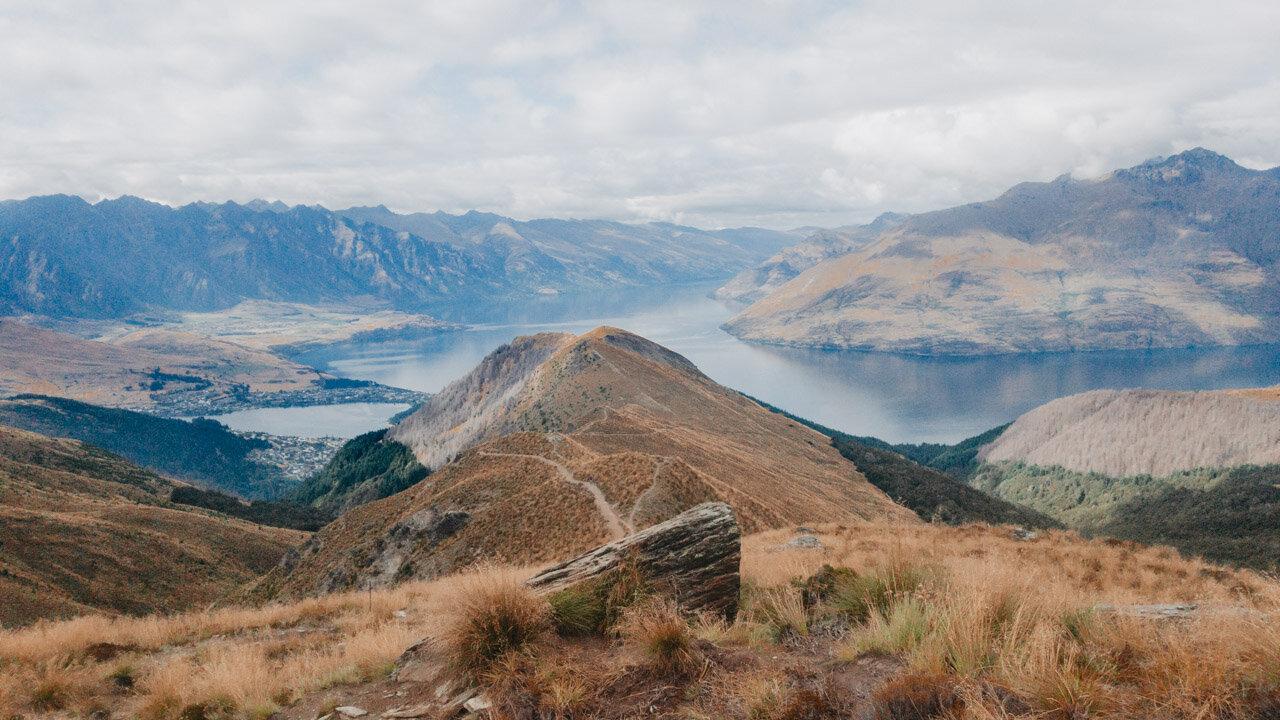 Ben Lomond Saddle Hiking Ben Lomond Queenstown New Zealand (Copy)