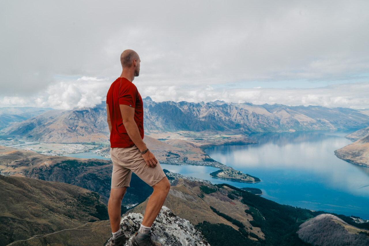 Ben Lomond Summit Hiking Ben Lomond Queenstown New Zealand