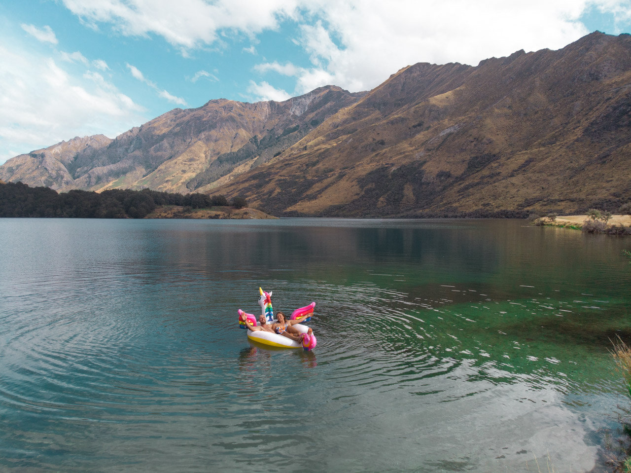 Moke Lake Queenstown to Glenorchy Scenic Drive