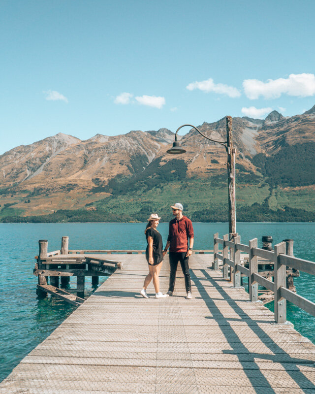 Glenorchy Jetty Queenstown to Glenorchy Scenic drive