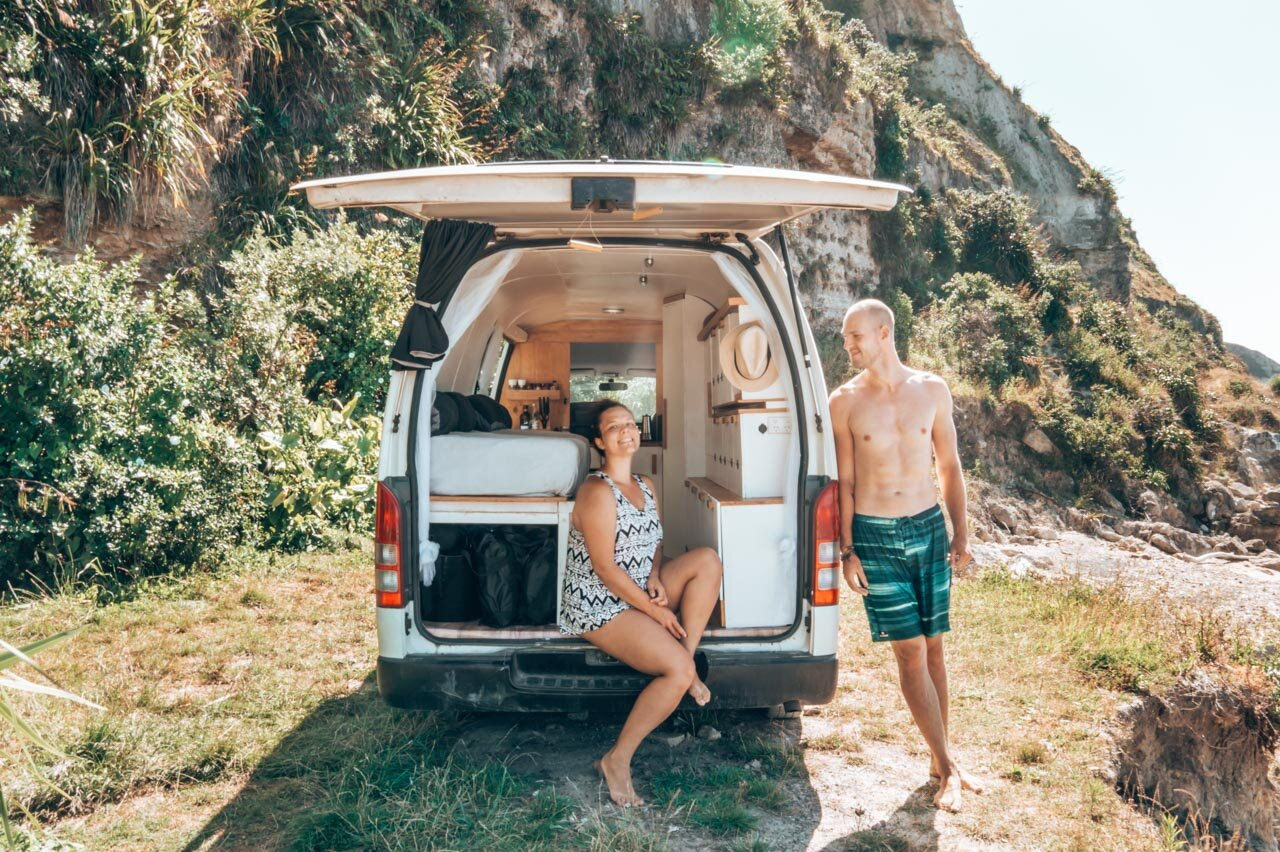 Freedom Camping Campervan Travel New Zealand