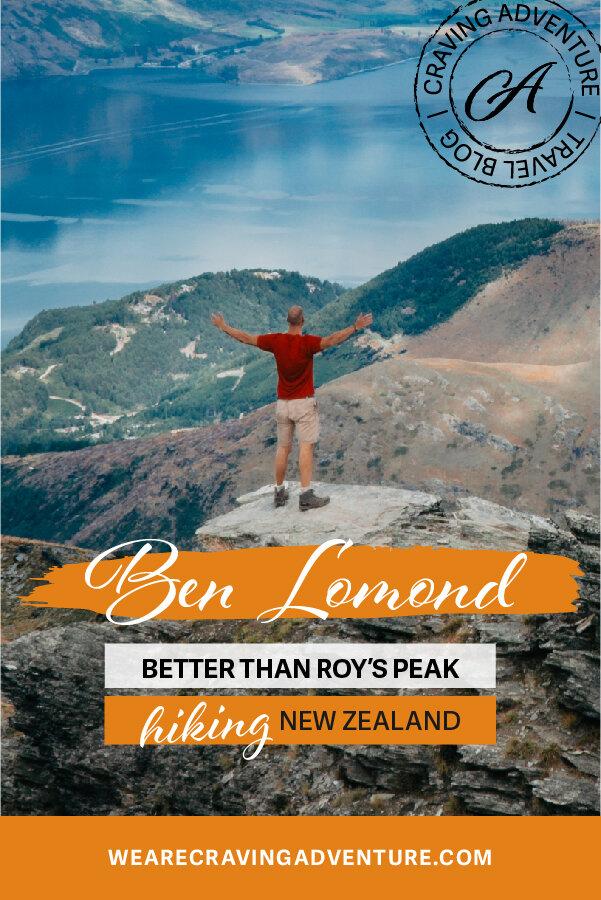 Hiking Ben Lomond Queenstown New Zealand Travel