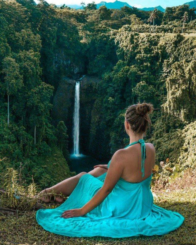 Sopo'aga Falls Samoa 10 day itinerary travel guide