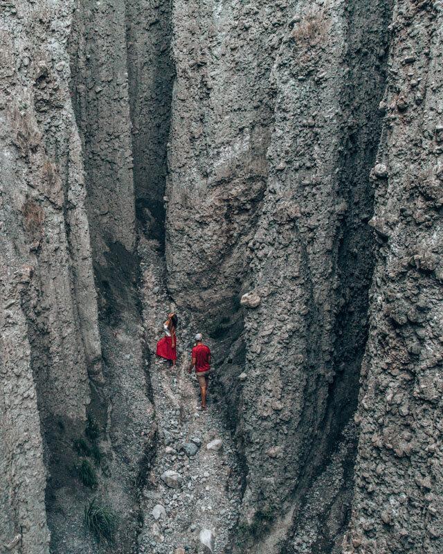 Putangirua Pinnacles (Paths of the Dead).
