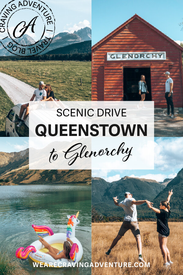 NZ Most Scenic Drive Queenstown to Glenorchy