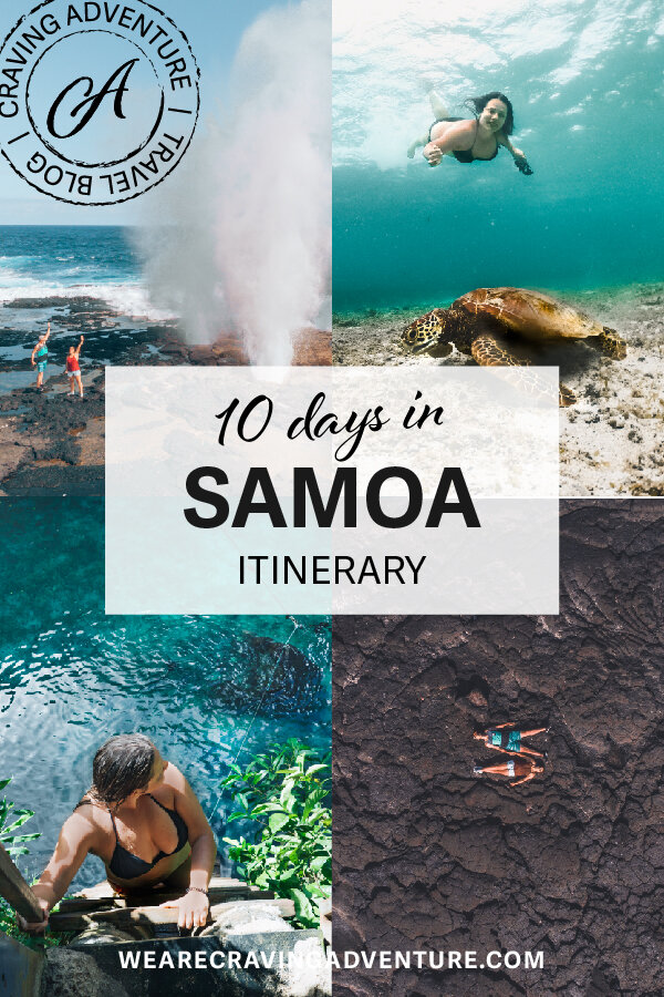 10 days in Samoa itinerary