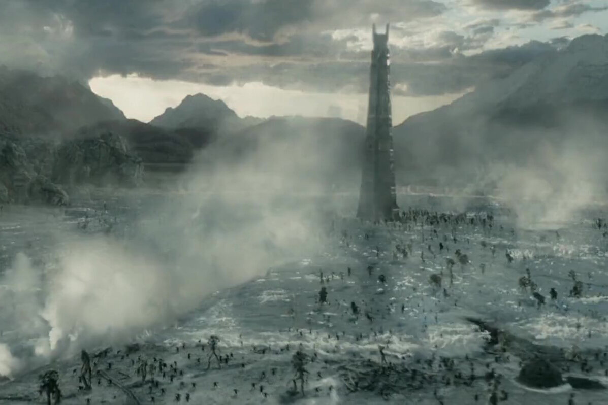 Isengard in The Two Towers.