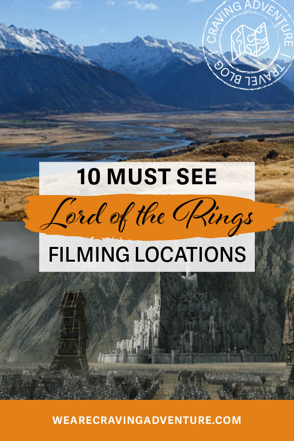 Lord of the Rings filming locations New Zealand