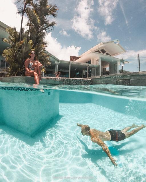 GoPro Dome Half Underwater Shot 2