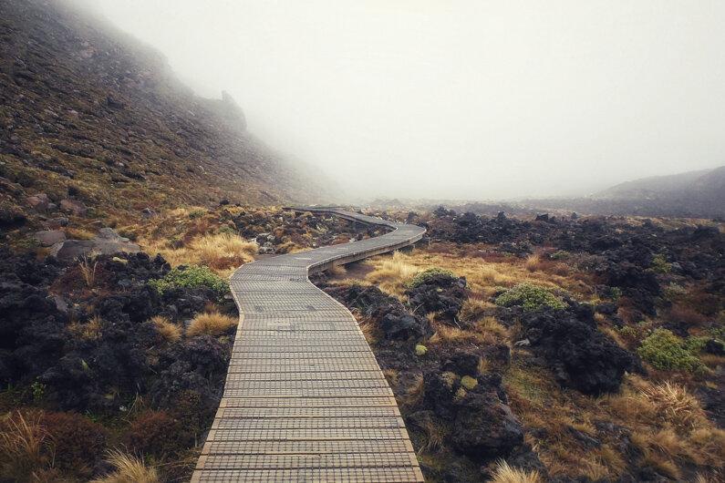 Tongariro Alpine Crossing Track Guide