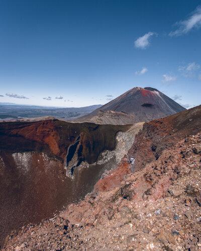 Red Crater Tongariro Alpine Crossing Guide