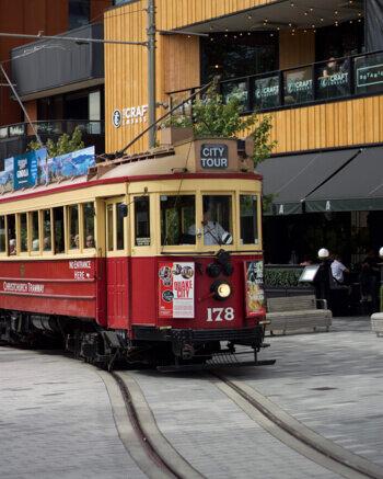 New Zealand South Island Road Trip Christchurch Tram