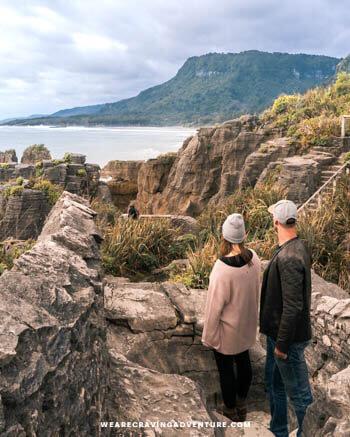 New Zealand South Island Road Trip Punakaiki Pancake Rocks