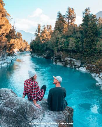 New Zealand South Island Road Trip Hokitika Gorge