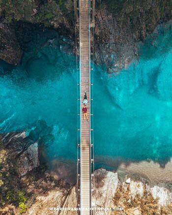 New Zealand South Island Road Trip Blue Pools