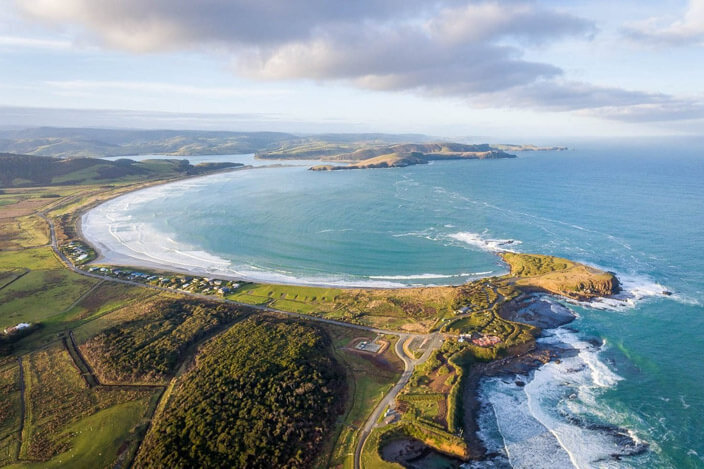 New Zealand South Island Road Trip Curio Bay