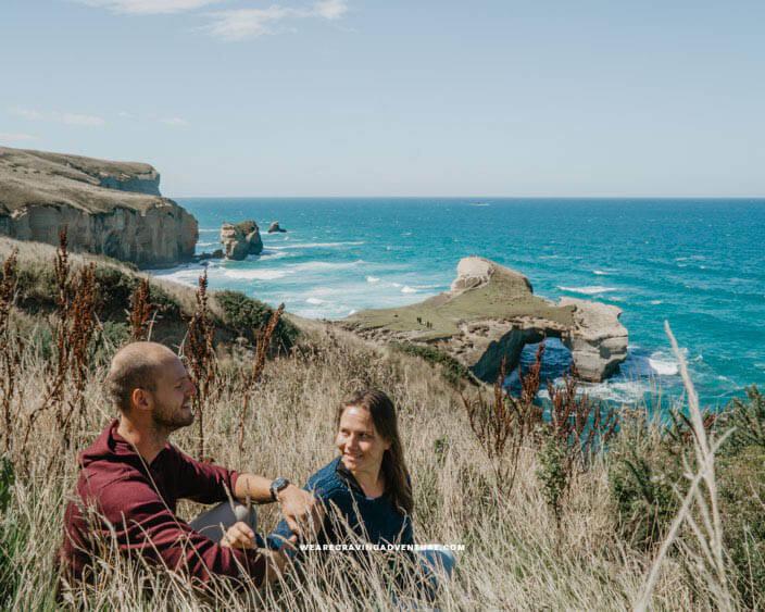 New Zealand South Island Road Trip Tunnel Beach