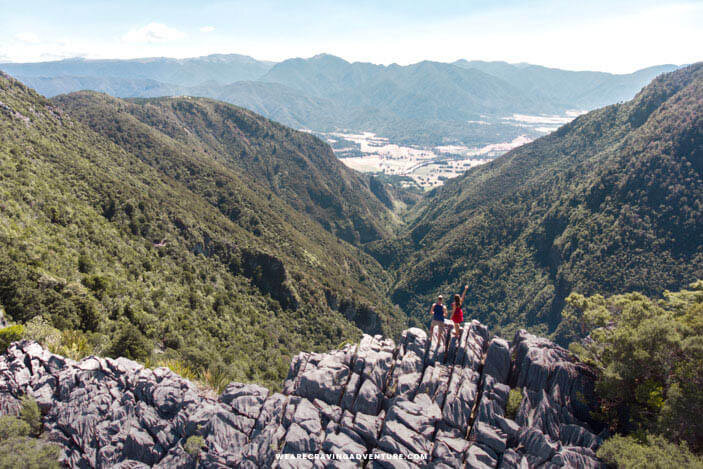 New Zealand South Island Road Trip Harwoods Hole
