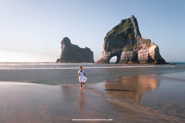 New Zealand South Island Road Trip Warariki Beach