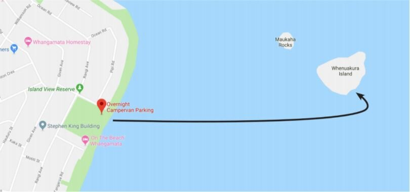 Donut Island Map New Zealand Must Do