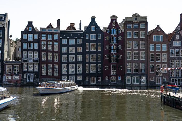 Amsterdam gingerbread houses