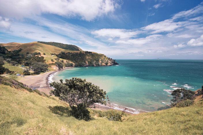 New Zealand Coromandel Fletcher Bay