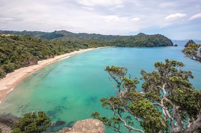 New Zealand Coromandel New Chums Beach