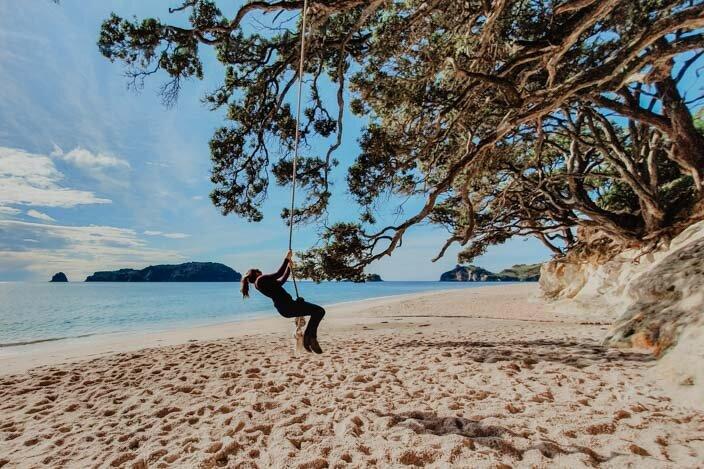 New Zealand Coromandel Hahei Beach