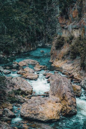 New Zealand Coromandel Karangahake Gorge