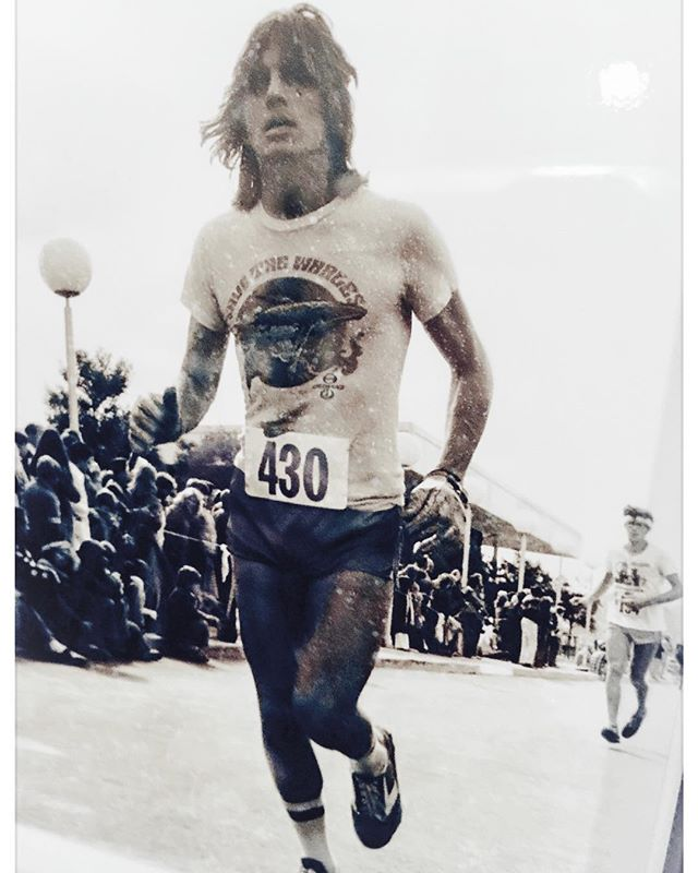 Came across this photo of my husband Ben running the Avenue of the Giants marathon way back when. ❤️. Did I mention I married a rock star?