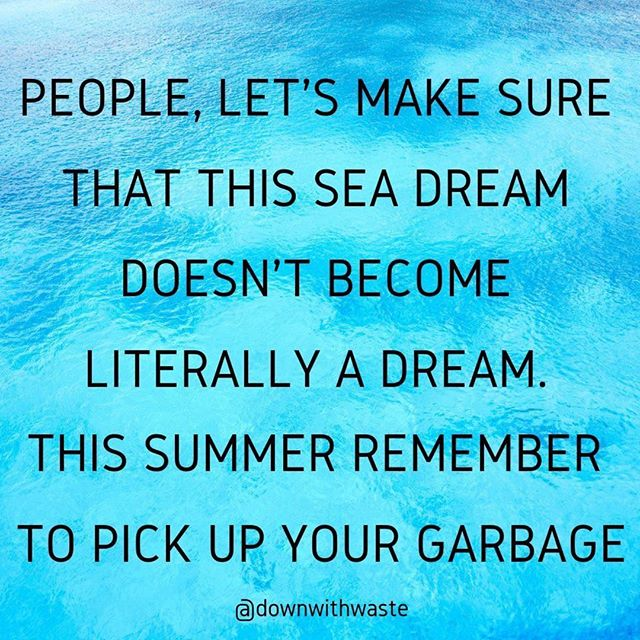 Another summer weekend is here then... #bluesea #theseaofourdreams #protecthenvironment #motherearth #downwithwaste