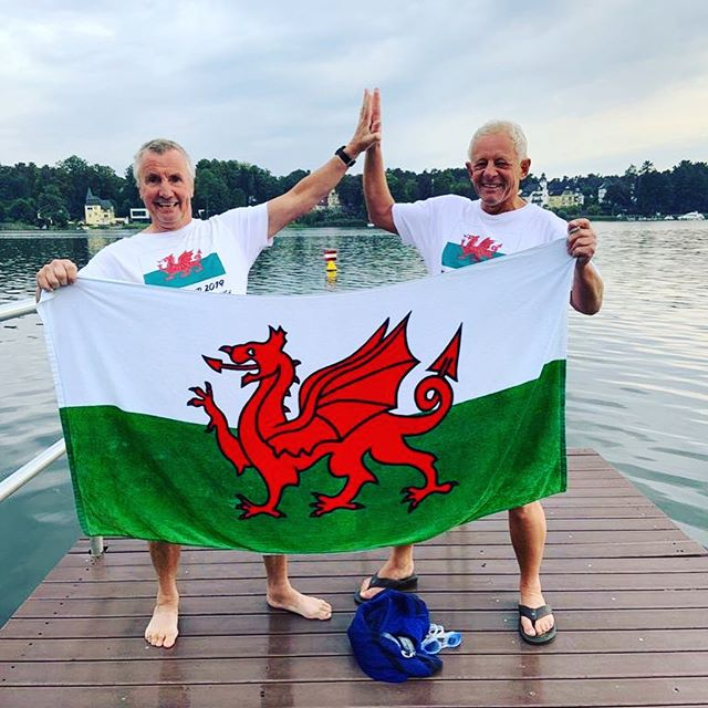 These are two inspirational 70 year olds getting sh*t done! 💪 Mike and Keith (from our swim group) have been on an epic mission to swim 70 lakes to mark their 70th birthdays. We posted about them back in April as they ticked off their 4th lake. A busy spring and summer spent all over, including Canada and Germany, means that today they have amazingly completed their 70th lake! WOW 👏 We are beyond impressed by their lovely nature, energy for life, their immense front crawl speed and their bickering adorable friendship. They have swam all over the world and unbelievably Keith only learned to swim at 40 years young. The best way to describe them is like a dunk in the coldest of water...totally smile inducing! 👯‍♂️🏊‍♀️🍻 Mike and Keith, a huge congratulations from us all. Interviews when they land back in Snowdonia to follow...😎 #wildswimming #sharetheswimlove #findyouradventure #wildswimsnowdonia #wildswim #outdoorswimmingsociety
