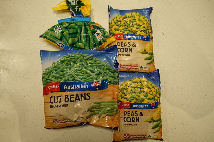 Frozen vegetables are a lifesaver. They're cheap, easy to prepare and the nutrients are snap frozen as opposed to some of the 'fresh stuff,' which has often been transported and stored for upwards of a week.